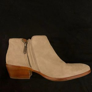 Sam Edelman suede ankle boots, size 7